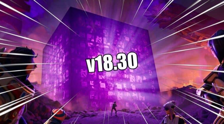 Imagen de Notas del parche 18.30 de Fortnite y las novedades que llegan con la nueva actualización