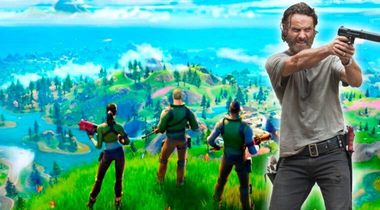 Imagen de Fortnite filtra cómo sería la skin de Rick Grimes (The Walking Dead) que llegará muy pronto