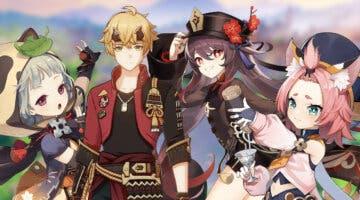 Imagen de Genshin Impact filtra los personajes de su próximo banner: Hu Tao, Thoma y más