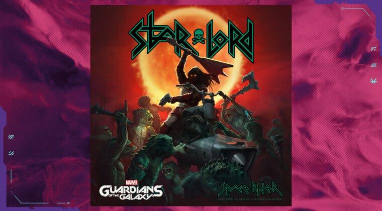 Imagen de Marvel's Guardians of the Galaxy presenta un peculiar tema musical de la banda de StarLord