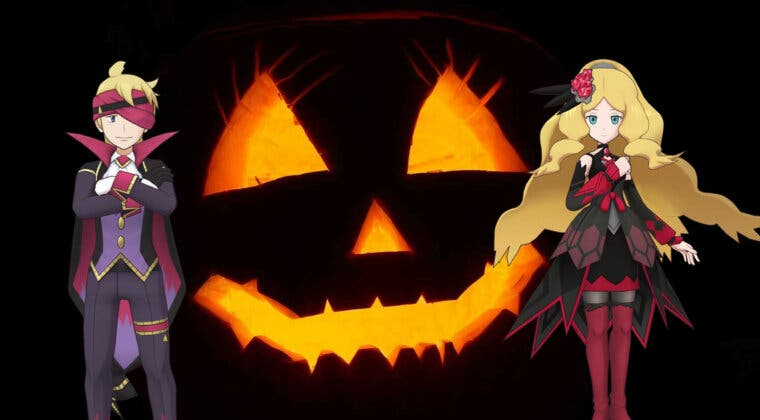 Imagen de Pokémon Masters EX inicia el evento de Halloween 2021, con Morti y Catleya