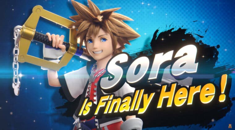 Imagen de No me lo creo...: Sora, de Kingdom Hearts, es el último luchador DLC de Super Smash Bros. Ultimate