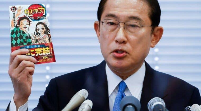 Imagen de El nuevo primer ministro de Japón es fan de Kimetsu no Yaiba, y promete más dinero para el sector