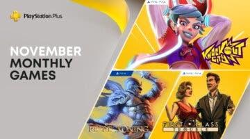 Imagen de PS Plus noviembre de 2021: confirmados los juegos gratis del servicio para PS4 y PS5