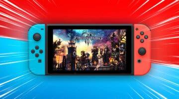 Imagen de Kingdom Hearts 3 (y el resto de juegos de la saga) confirmados para Nintendo Switch en versión nube