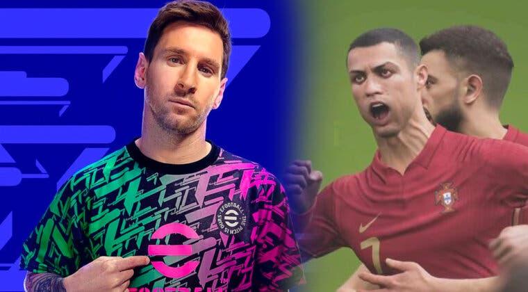 Imagen de Los gráficos de eFootball 2022 frente a frente con eFootball 2021, juzgad por vosotros mismos