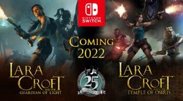 Imagen de Tomb Raider celebra su 25 aniversario anunciando estos dos juegos de Lara Croft para Nintendo Switch