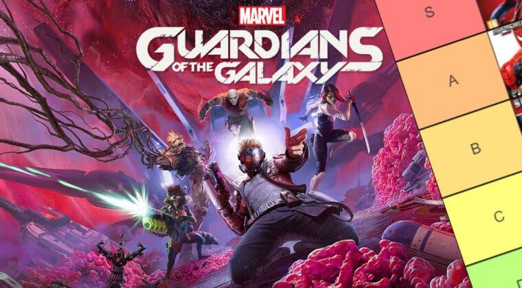 Imagen de Guardians of the Galaxy está a la vuelta de la esquina y esta es la tier list definitiva de los juegos de Marvel