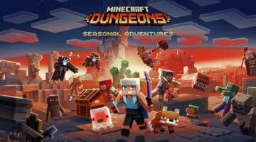 Imagen de Minecraft Dungeons anuncia grandes novedades: temporadas, pase de batalla y más