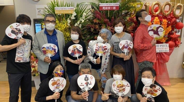 Imagen de Los actores y actrices de doblaje de One Piece celebran la llegada del episodio 1 000