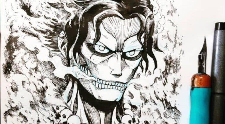 Imagen de Así serían los personajes de One Piece como titanes de Shingeki no Kyojin, según un artista