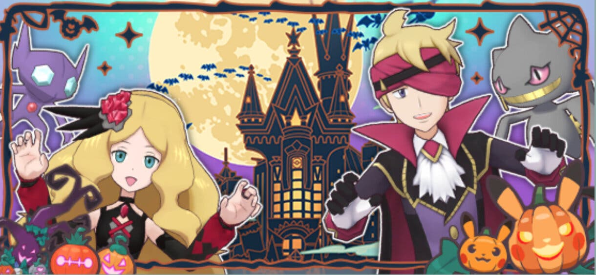 Pokemon Masters EX Catleya Morti Halloween 2021