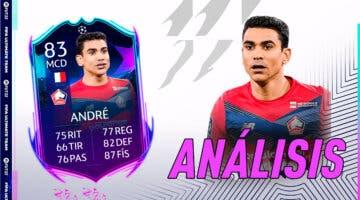 Imagen de FIFA 22: análisis de Benjamin André RTTK gratuito. ¿Un centrocampista free to play top?