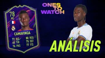 Imagen de FIFA 22: análisis de Camavinga OTW, carta gratuita de Ultimate Team. ¿Un free to play obligatorio?