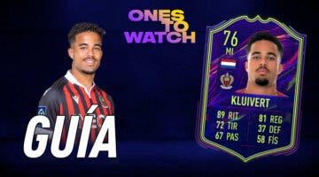 Imagen de FIFA 22: guía para conseguir a Justin Kluivert OTW gratuito