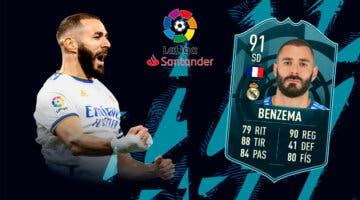Imagen de FIFA 22: ¿Merece la pena Karim Benzema POTM? + Solución del SBC