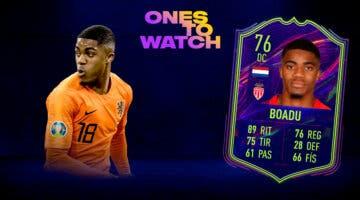 Imagen de FIFA 22: ¿Merece la pena Myron Boadu Ones to Watch? + Solución del SBC (OTW)