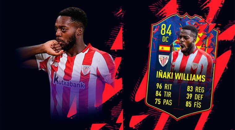 Imagen de FIFA 22: ¿Merece la pena Iñaki Williams Record Breakers? + Solución del SBC