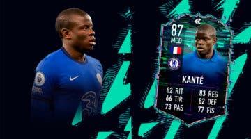 Imagen de FIFA 22: ¿Merece la pena N´Golo Kanté Flashback? + Solución del SBC
