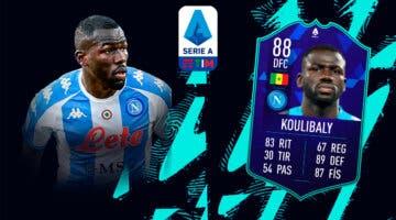 Imagen de FIFA 22: ¿Merece la pena Kalidou Koulibaly POTM de la Serie A? + Solución del SBC