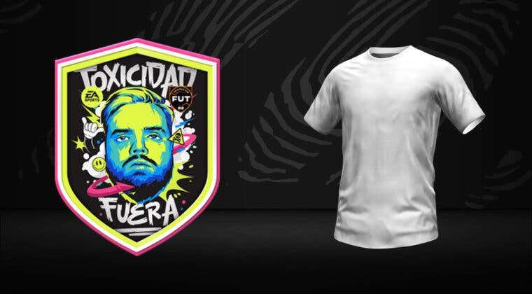 """Imagen de FIFA 22: Ibai Llanos llega a Ultimate Team con su camiseta """"Toxicidad fuera"""" + cómo conseguirla"""