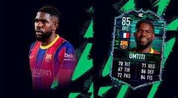 Imagen de FIFA 22: ¿Merece la pena Samuel Umtiti Flashback? + Solución del SBC