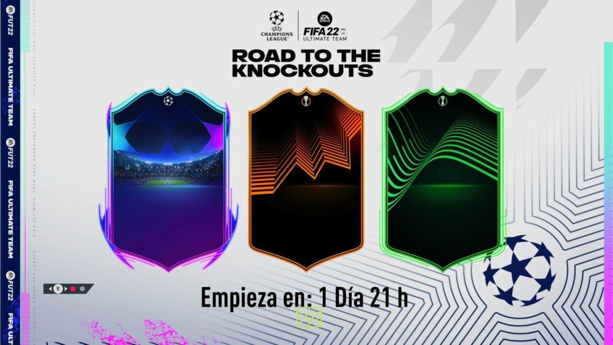 FIFA 22: qué son y cómo se ven los tres mapas en el nuevo evento de Ultimate Team (Road to the Knockouts)