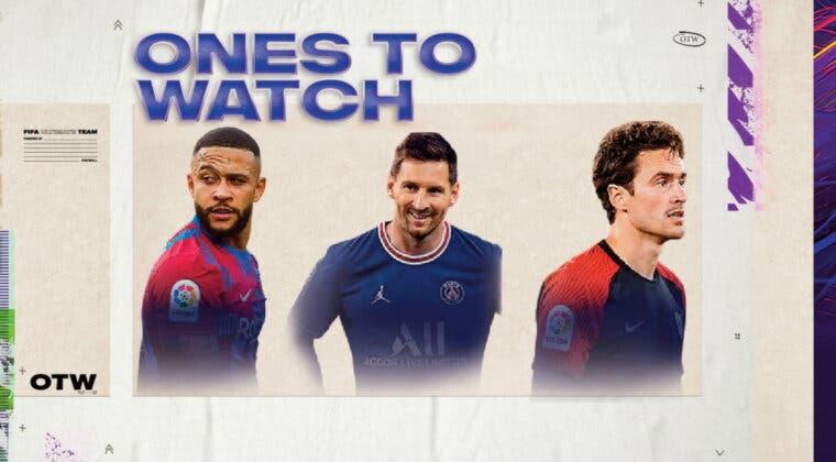 Imagen de FIFA 22: seguimiento de los Ones to Watch (segunda semana). Cartas muy competitivas se complican su mejora