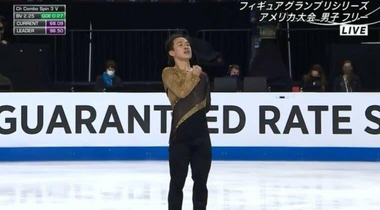 Imagen de Shingeki no Kyojin: Un patinador profesional usa la BSO del anime para su actuación