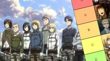 Imagen de Shingeki no Kyojin: Tier List con mis 'mejores personajes' del anime, ¿cuáles son los tuyos?