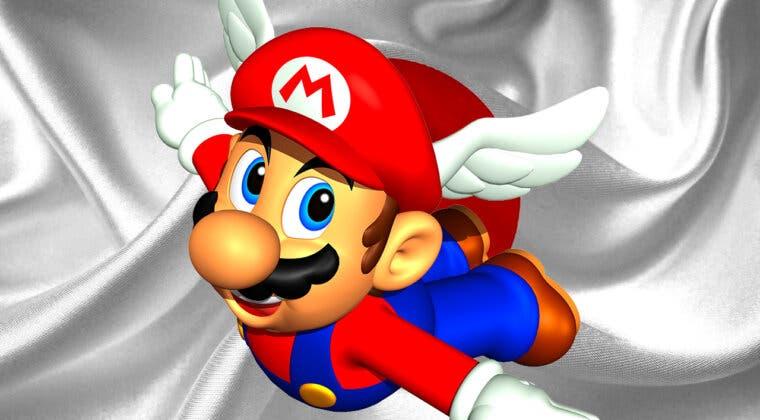 Imagen de La versión de Super Mario 64 para Nintendo Switch Online que solo está disponible en Japón