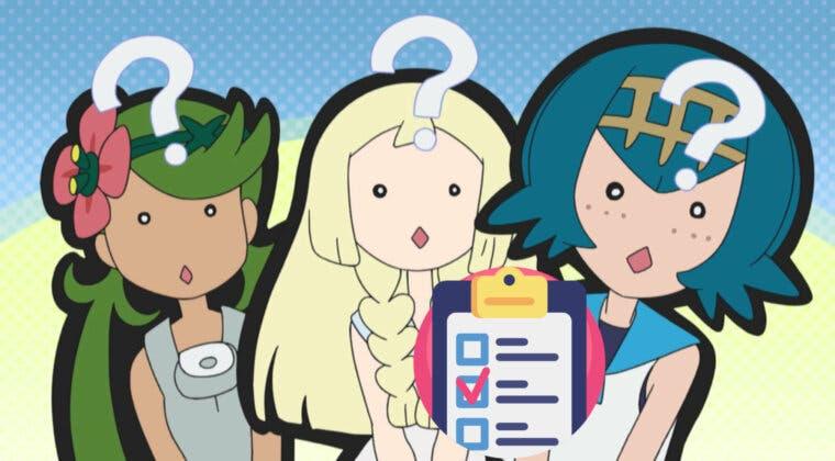 Imagen de ¿A qué personaje del anime de Pokémon Sol y Luna te pareces más? Descúbrelo con este test
