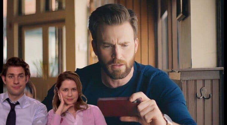 Imagen de The Office: Chris Evans reacciona a uno de los momentos más tiernos de Jim y Pam