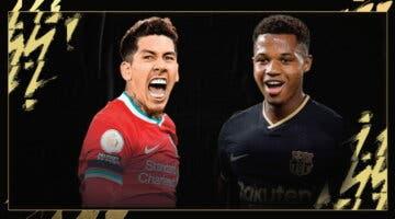 Imagen de FIFA 22: nuevo Equipo de la Semana con Ansu Fati, Roberto Firmino, Ilicic y Gnabry entre otros (TOTW 5)