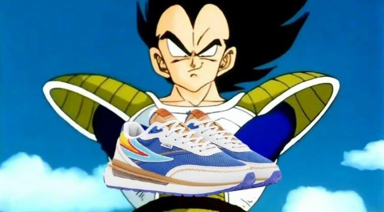 Imagen de Dragon Ball anuncia una nueva colección de zapatillas con FILA