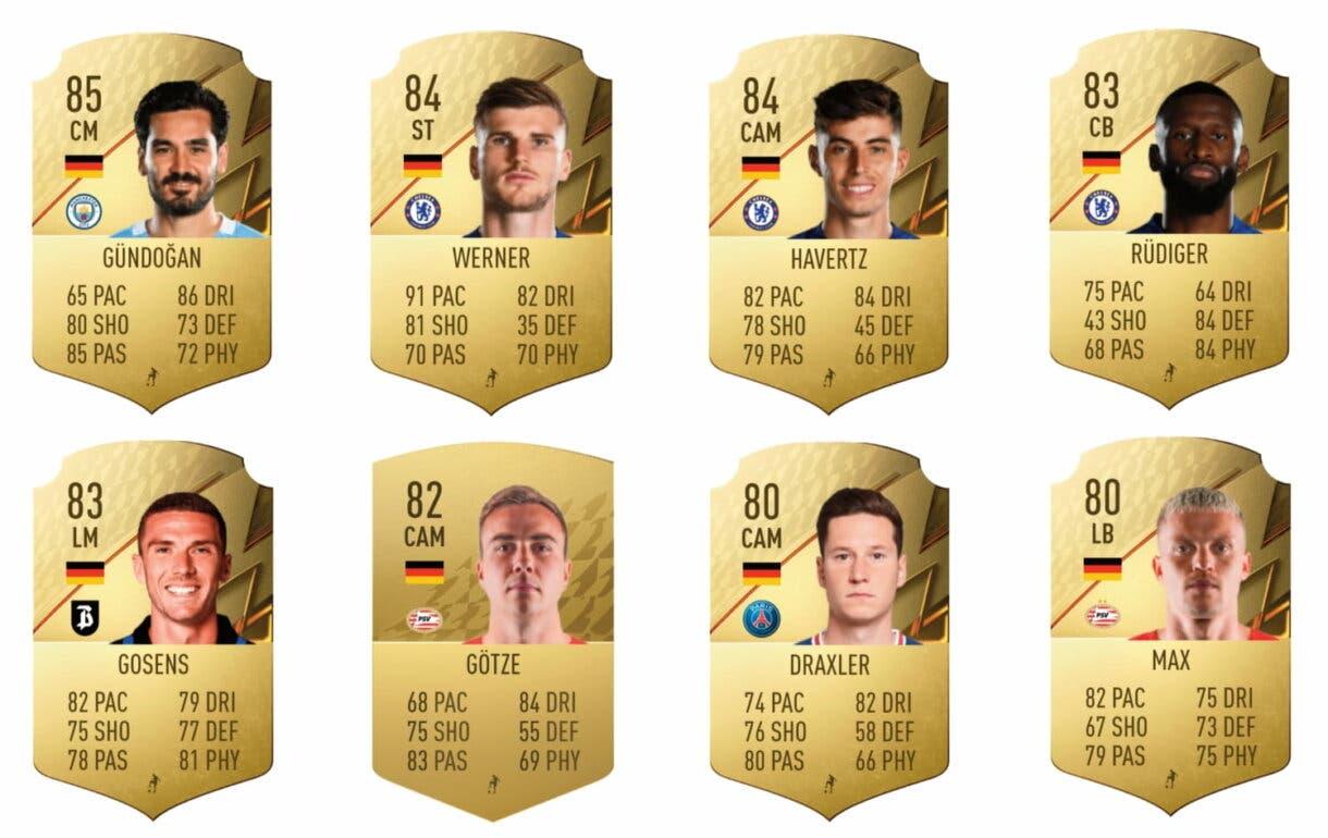 FIFA 22: ¿Merece la pena Florian Wirtz POTM de la Bundesliga? + Solución del SBC Ultimate Team links naranjas