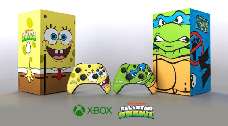 Imagen de Xbox Series X edición Bob Esponja y Tortugas Ninja: esta es la forma de conseguir una