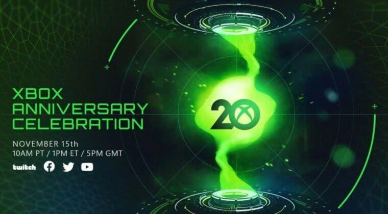 Imagen de Xbox anuncia un evento especial por su 20 aniversario y este es el contenido según insiders